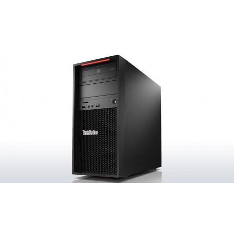 Lenovo ThinkStation P410 3.5GHz E5-1620V4 Mini Wieża Czarny Stanowisko
