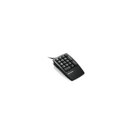 Lenovo Keyboard NON 17keys numeric USB black