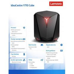IdeaCentre Y710 Cube-15ISH 90FL007MPB W10H i7-6700/16/1T/GTX1080/2YRS CI