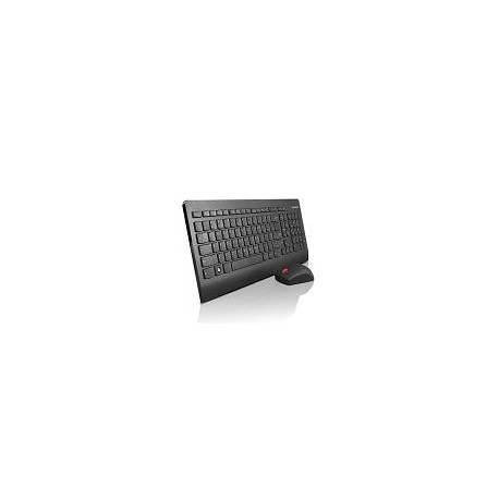 Lenovo 4X30L04138 USB Amerykański międzynarodowy Czarny klawiatura