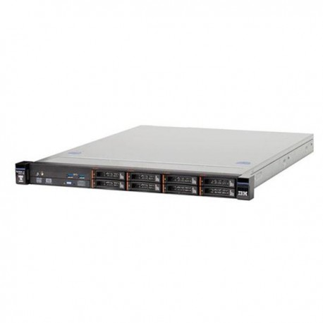 x3250 M5, Xeon 4C E3-1241v3 80W 3.5GHz/1600MHz/8MB, 1x8GB, O/Bay HS 2.5in SAS/SATA, SR H1110, 460W p/s, Rack