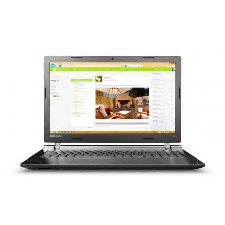 """Lenovo IdeaPad 100 2GHz i3-5005U 15.6"""" 1366 x 768piksele Czarny Notebook"""
