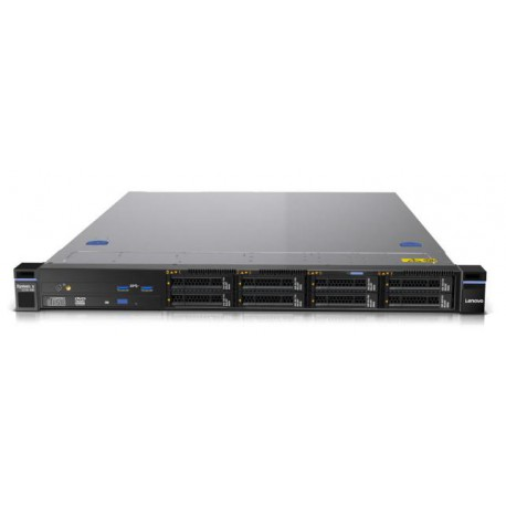 TopSeller x3250 M6, Xeon 4C E3-1220v5 80W 3.0GHz/2133MHz, 1x8GB, O/Bay 3.5in HS SAS/SATA, SR M1210, 300W p/s, Rack