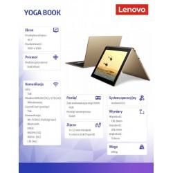 YOGA Book ZA0W0015PL A6.0 x5-Z8550/4GB/64GB/LTE/10.1''