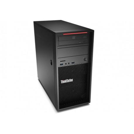 Lenovo ThinkStation P410 3.7GHz E5-1630V4 Mini Wieża Czarny Stanowisko