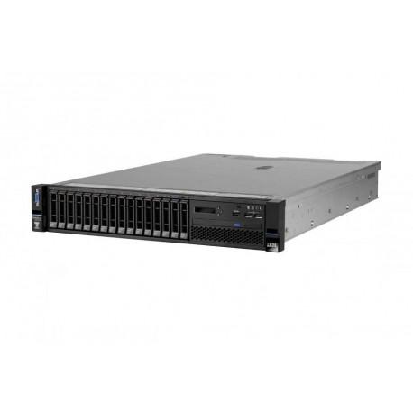 x3650 M5, Xeon 6C E5-2609v3 85W 1.9GHz/1600MHz/15MB, 1x8GB, O/Bay SS 3.5in SAS/SATA, 550W p/s, Rack