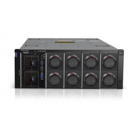x3850 X6, 1x Compute Book Xeon 8C E7-4809v4 115W 2.1GHz/?MHz/20MB, 2x8GB, O/Bay HS 2.5in SAS/SATA, 1x900W p/s, Rack