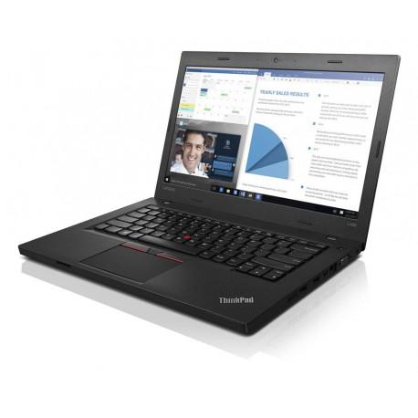 """Lenovo ThinkPad L460 2.3GHz i3-6100U 14"""" 1366 x 768piksele Czarny Notebook"""