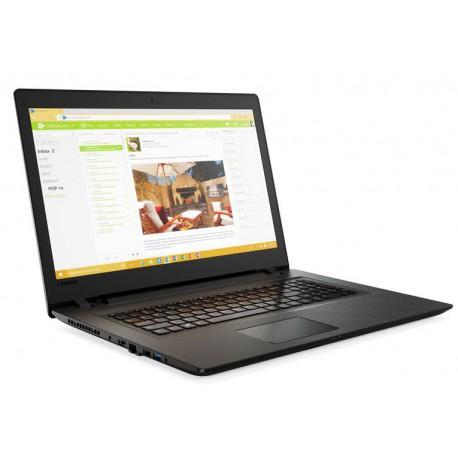 "Lenovo IdeaPad V110 17 2.4GHz i3-7100U 17.3"" 1600 x 900piksele Czarny, Szary"