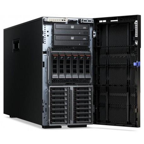 TopSeller x3500 M5, Xeon 6C E5-2620v3 85W 2.4GHz/1866MHz/15MB, 1x8GB, 3x300GB HS 2.5in SAS, SR M5210, Multi-Burner, 2x750W p/s,
