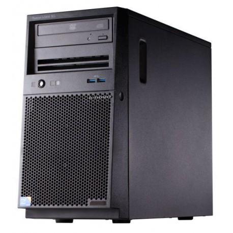 TopSeller x3100 M5, Xeon 4C E3-1220v3 80W 3.1GHz/1600MHz/8MB, 1x8GB, 1x1TB SS 3.5in SATA, SR C100, Multi-Burner, 300W p/s, Tower