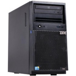 x3100 M5, Xeon 4C E3-1231v3 80W 3.4GHz/1600MHz/8MB, 1x4GB, O/Bay SS 3.5in SATA, SR C100, DVD-ROM, 300W p/s, Tower