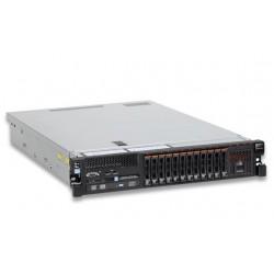 x3750 M4, 2x Xeon 8C E5-4627v2 130W 3.3GHz/1866MHz/16MB, 2x8GB, O/Bay HS 2.5in SATA/SAS, SR M5210e, 900W p/s, Rack