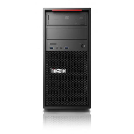 Lenovo ThinkStation P320 3.6GHz i7-7700 Wieża Czarny Stanowisko