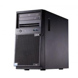 x3100 M5, Xeon 4C E3-1220v3 80W 3.1GHz/1600MHz/8MB, 1x4GB, O/Bay SS 3.5in SATA, SR C100, DVD-ROM, 350W p/s, Tower