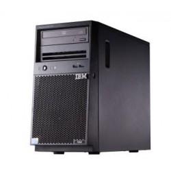 TopSeller x3100 M5, Xeon 4C E3-1220v3 80W 3.1GHz/1600MHz/8MB, 1x8GB, O/Bay HS 3.5in SAS/SATA, SR H1110, Multi-Burner, 430W p/s,